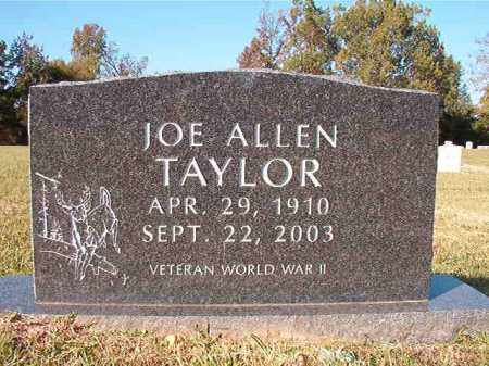 TAYLOR, JOE ALLEN - Dallas County, Arkansas | JOE ALLEN TAYLOR - Arkansas Gravestone Photos
