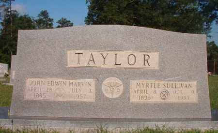 TAYLOR, JOHN EDWIN MARVIN - Dallas County, Arkansas | JOHN EDWIN MARVIN TAYLOR - Arkansas Gravestone Photos