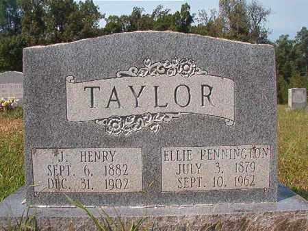 TAYLOR, J HENRY - Dallas County, Arkansas | J HENRY TAYLOR - Arkansas Gravestone Photos
