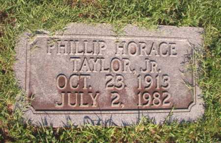 TAYLOR, JR, PHILLIP HORACE - Dallas County, Arkansas   PHILLIP HORACE TAYLOR, JR - Arkansas Gravestone Photos