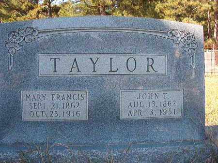 TAYLOR, MARY FRANCIS - Dallas County, Arkansas | MARY FRANCIS TAYLOR - Arkansas Gravestone Photos