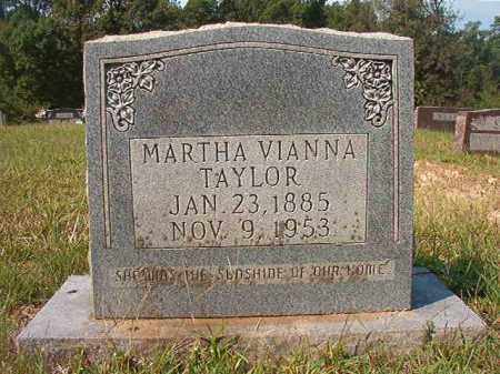 TAYLOR, MARTHA VIANNA - Dallas County, Arkansas | MARTHA VIANNA TAYLOR - Arkansas Gravestone Photos