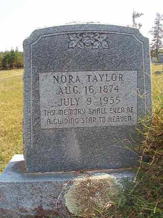 TAYLOR, NORA - Dallas County, Arkansas | NORA TAYLOR - Arkansas Gravestone Photos