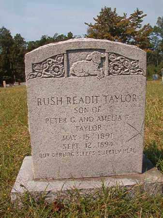 TAYLOR, RUSH READIT - Dallas County, Arkansas | RUSH READIT TAYLOR - Arkansas Gravestone Photos