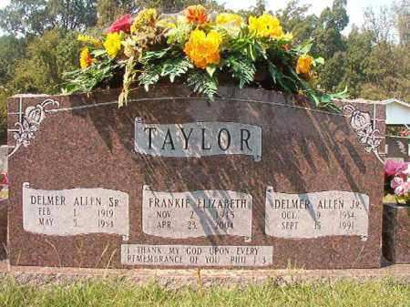 TAYLOR, SR, DELMER ALLEN - Dallas County, Arkansas | DELMER ALLEN TAYLOR, SR - Arkansas Gravestone Photos
