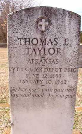 TAYLOR (VETERAN), THOMAS L - Dallas County, Arkansas   THOMAS L TAYLOR (VETERAN) - Arkansas Gravestone Photos
