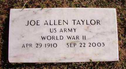 TAYLOR (VETERAN WWII), JOE ALLEN - Dallas County, Arkansas | JOE ALLEN TAYLOR (VETERAN WWII) - Arkansas Gravestone Photos