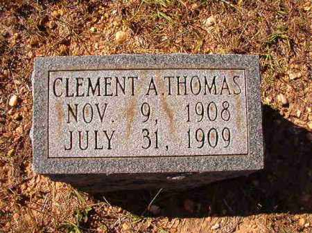 THOMAS, CLEMENT A - Dallas County, Arkansas | CLEMENT A THOMAS - Arkansas Gravestone Photos
