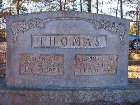 THOMAS, JOHN W - Dallas County, Arkansas | JOHN W THOMAS - Arkansas Gravestone Photos