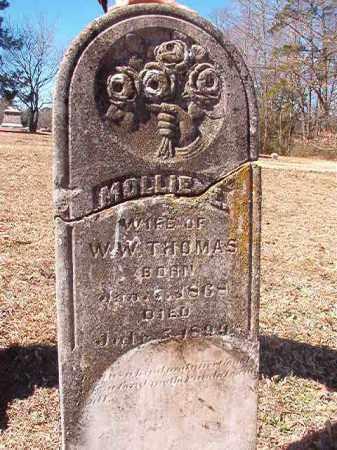THOMAS, MOLLIE E - Dallas County, Arkansas | MOLLIE E THOMAS - Arkansas Gravestone Photos