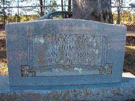 THOMAS, SARAH ANN - Dallas County, Arkansas | SARAH ANN THOMAS - Arkansas Gravestone Photos