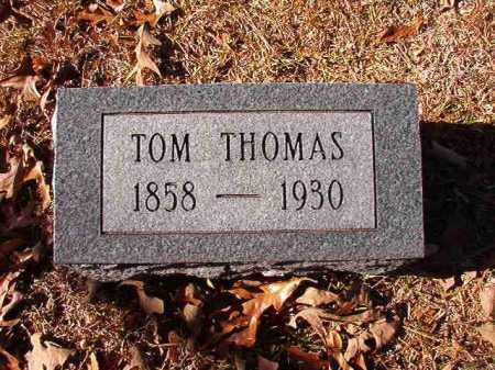 THOMAS, TOM - Dallas County, Arkansas | TOM THOMAS - Arkansas Gravestone Photos