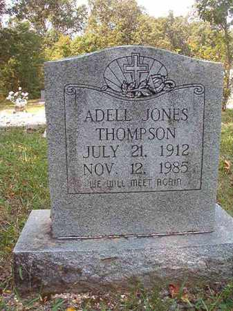 JONES THOMPSON, ADELL - Dallas County, Arkansas | ADELL JONES THOMPSON - Arkansas Gravestone Photos