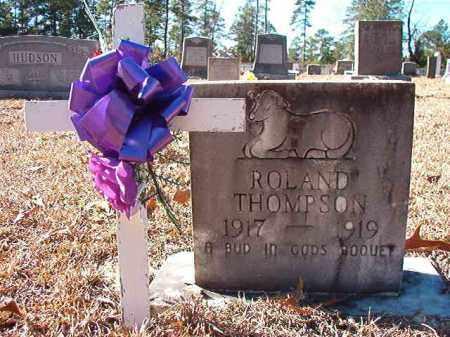 THOMPSON, ROLAND - Dallas County, Arkansas | ROLAND THOMPSON - Arkansas Gravestone Photos