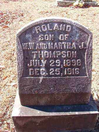 THOMPSON, ROLAND - Dallas County, Arkansas | ROLAND THOMPSON - Arkansas Gravestone Photos