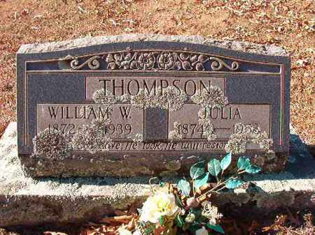 THOMPSON, WILLIAM W - Dallas County, Arkansas | WILLIAM W THOMPSON - Arkansas Gravestone Photos