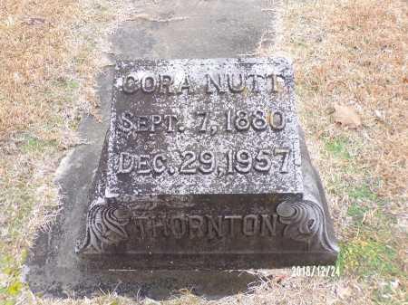 NUTT THORNTON, CORA - Dallas County, Arkansas | CORA NUTT THORNTON - Arkansas Gravestone Photos