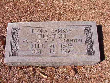 RAMSAY THORNTON, FLORA - Dallas County, Arkansas | FLORA RAMSAY THORNTON - Arkansas Gravestone Photos