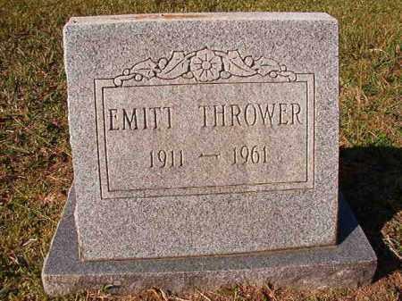 THROWER, EMITT - Dallas County, Arkansas | EMITT THROWER - Arkansas Gravestone Photos
