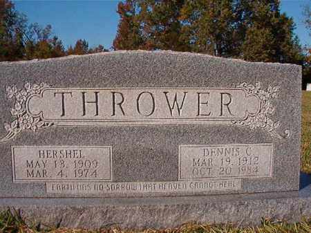 THROWER, HERSHEL - Dallas County, Arkansas | HERSHEL THROWER - Arkansas Gravestone Photos