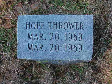 THROWER, HOPE - Dallas County, Arkansas | HOPE THROWER - Arkansas Gravestone Photos
