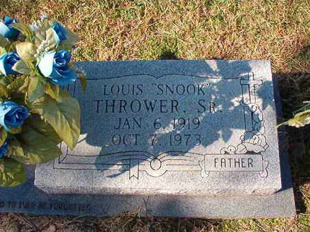 "THROWER, SR, LOUIS ""SNOOK"" - Dallas County, Arkansas 