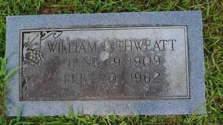 THWEATT, WILLIAM O - Dallas County, Arkansas | WILLIAM O THWEATT - Arkansas Gravestone Photos
