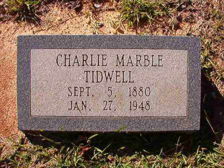 TIDWELL, CHARLIE MARBLE - Dallas County, Arkansas | CHARLIE MARBLE TIDWELL - Arkansas Gravestone Photos