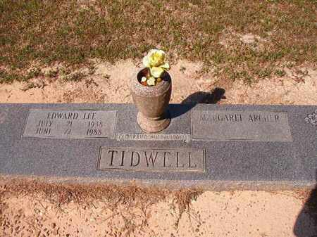 TIDWELL, EDWARD LEE - Dallas County, Arkansas | EDWARD LEE TIDWELL - Arkansas Gravestone Photos