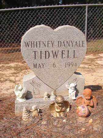 TIDWELL, WHITNEY DANYALE - Dallas County, Arkansas | WHITNEY DANYALE TIDWELL - Arkansas Gravestone Photos