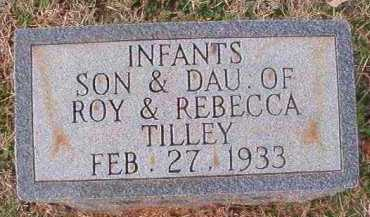 TILLEY, INFANT TWIN SON - Dallas County, Arkansas | INFANT TWIN SON TILLEY - Arkansas Gravestone Photos