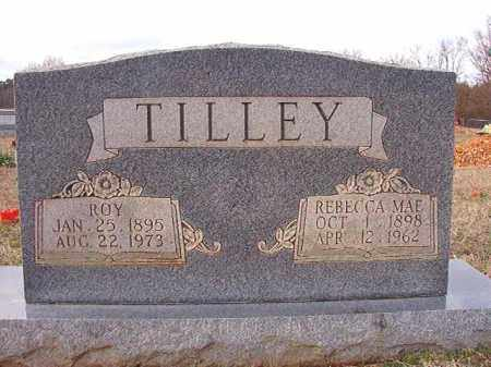 TILLEY, REBECCA MAE - Dallas County, Arkansas | REBECCA MAE TILLEY - Arkansas Gravestone Photos
