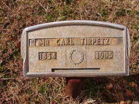 TIRPETZ, CARL - Dallas County, Arkansas | CARL TIRPETZ - Arkansas Gravestone Photos
