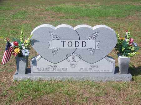 TODD, HOWARD EDWARD - Dallas County, Arkansas | HOWARD EDWARD TODD - Arkansas Gravestone Photos