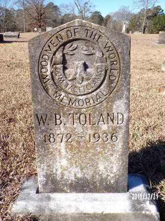 TOLAND, W B - Dallas County, Arkansas | W B TOLAND - Arkansas Gravestone Photos