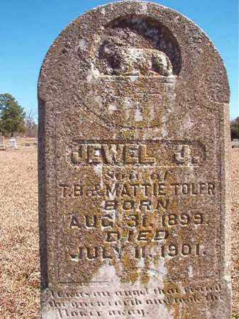 TOLER, JEWEL J - Dallas County, Arkansas | JEWEL J TOLER - Arkansas Gravestone Photos