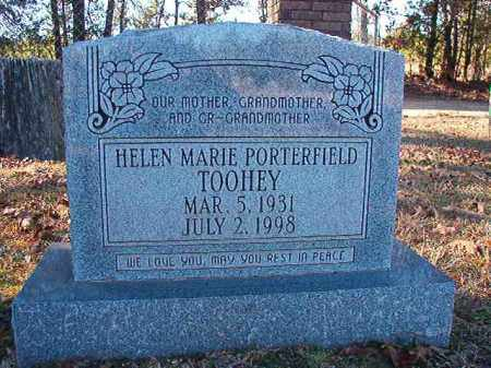PORTERFIELD TOOHEY, HELEN MARIE - Dallas County, Arkansas | HELEN MARIE PORTERFIELD TOOHEY - Arkansas Gravestone Photos
