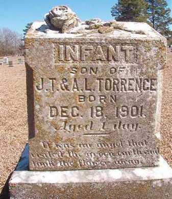 TORRENCE, INFANT SON - Dallas County, Arkansas | INFANT SON TORRENCE - Arkansas Gravestone Photos