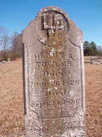 TOWLER, HENRY A - Dallas County, Arkansas | HENRY A TOWLER - Arkansas Gravestone Photos