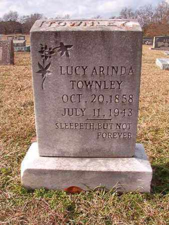 TOWNLEY, LUCY ARINDA - Dallas County, Arkansas | LUCY ARINDA TOWNLEY - Arkansas Gravestone Photos