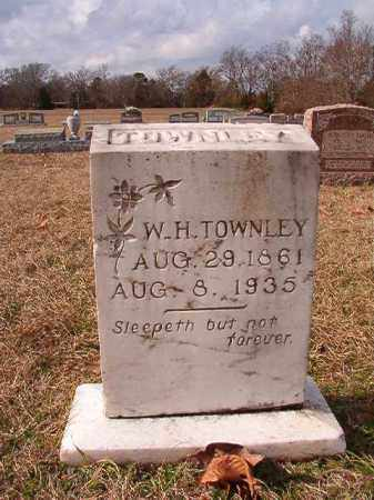 TOWNLEY, W H - Dallas County, Arkansas | W H TOWNLEY - Arkansas Gravestone Photos