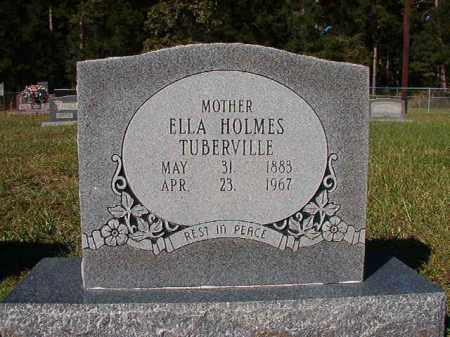 HOLMES TUBERVILLE, ELLA - Dallas County, Arkansas | ELLA HOLMES TUBERVILLE - Arkansas Gravestone Photos