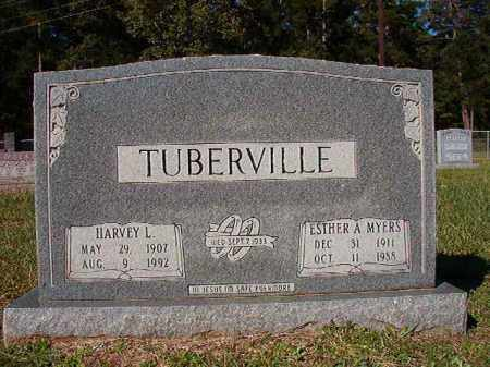 TUBERVILLE, ESTHER A - Dallas County, Arkansas | ESTHER A TUBERVILLE - Arkansas Gravestone Photos