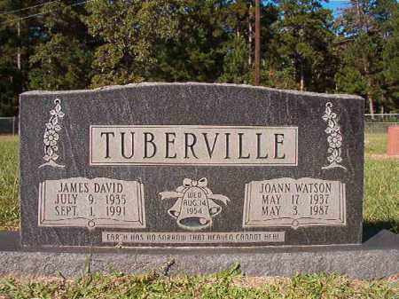TUBERVILLE, JOANN - Dallas County, Arkansas | JOANN TUBERVILLE - Arkansas Gravestone Photos