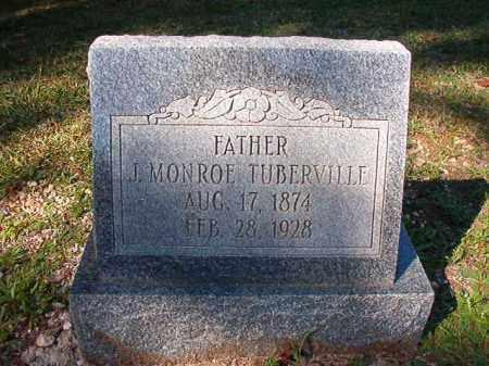 TUBERVILLE, J MONROE - Dallas County, Arkansas | J MONROE TUBERVILLE - Arkansas Gravestone Photos