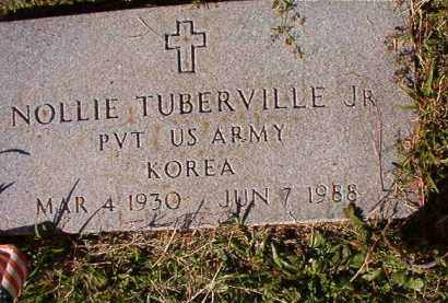 TUBERVILLE, JR (VETERAN KOR), NOLLIE - Dallas County, Arkansas | NOLLIE TUBERVILLE, JR (VETERAN KOR) - Arkansas Gravestone Photos