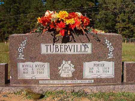 MYERS TUBERVILLE, MYRTLE - Dallas County, Arkansas | MYRTLE MYERS TUBERVILLE - Arkansas Gravestone Photos