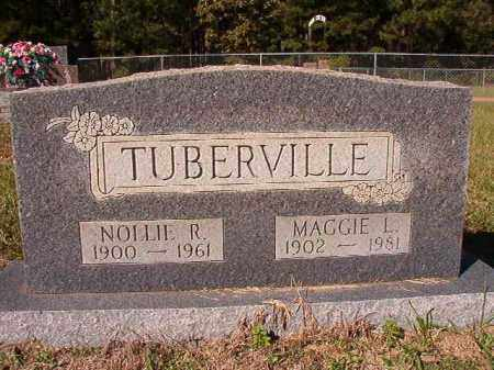 TUBERVILLE, NOLLIE R - Dallas County, Arkansas | NOLLIE R TUBERVILLE - Arkansas Gravestone Photos