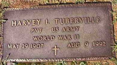 TUBERVILLE (VETERAN WWII), HARVEY L - Dallas County, Arkansas | HARVEY L TUBERVILLE (VETERAN WWII) - Arkansas Gravestone Photos