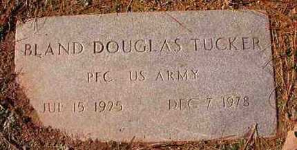 TUCKER (VETERAN), BLAND DOUGLAS - Dallas County, Arkansas | BLAND DOUGLAS TUCKER (VETERAN) - Arkansas Gravestone Photos